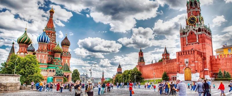 Nước Nga rộng lớn và xinh đẹp