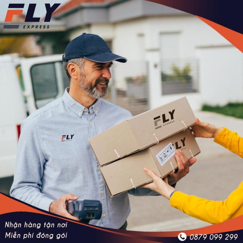 Dịch vụ nhận hàng và đóng gói chuyển phát nhanh đi Đức tại FLY Express