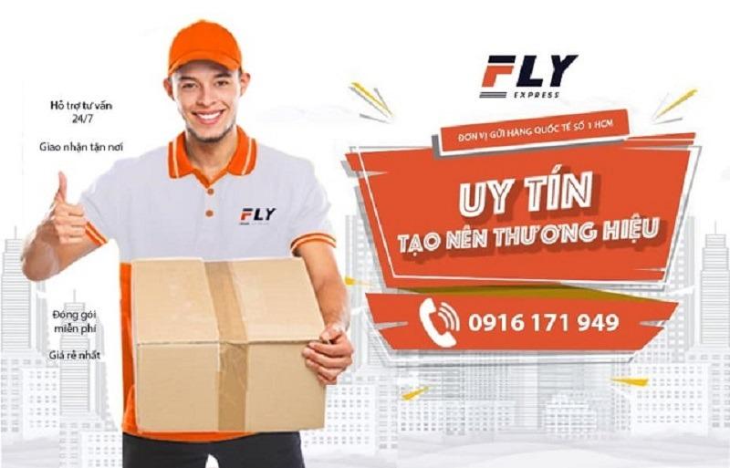 Dịch vụ chuyển phát nhanh sang Anh của FLY Express
