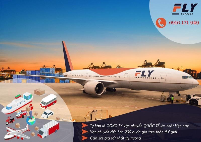 Dịch vụ gửi hàng đi Mỹ giá rẻ của FLY Express
