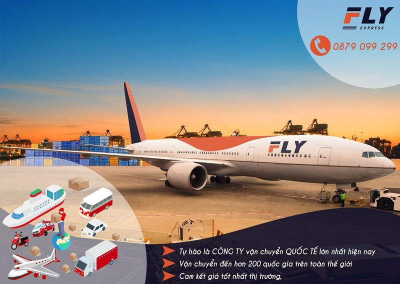 Dịch vụ gửi quà Tết đi Mỹ tại FLY Express