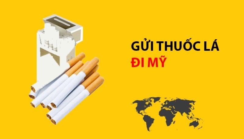 Dịch vụ gửi thuốc lá đi Mỹ của Fly Express