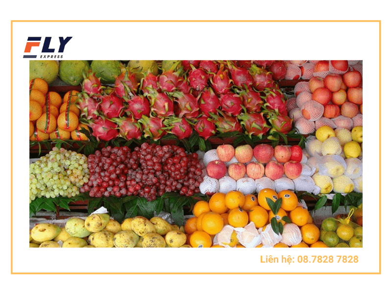 Gửi trái cây đi Mỹ các loại