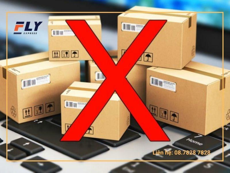 Những vật phẩm, hàng hóa bị cấm gửi đi Mỹ