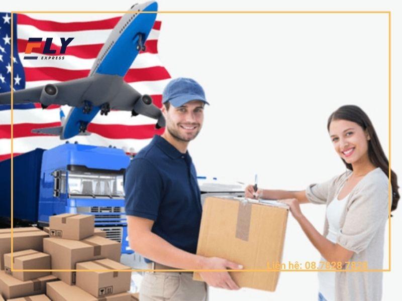 Gửi hàng đi Mỹ uy tín với Fly Express