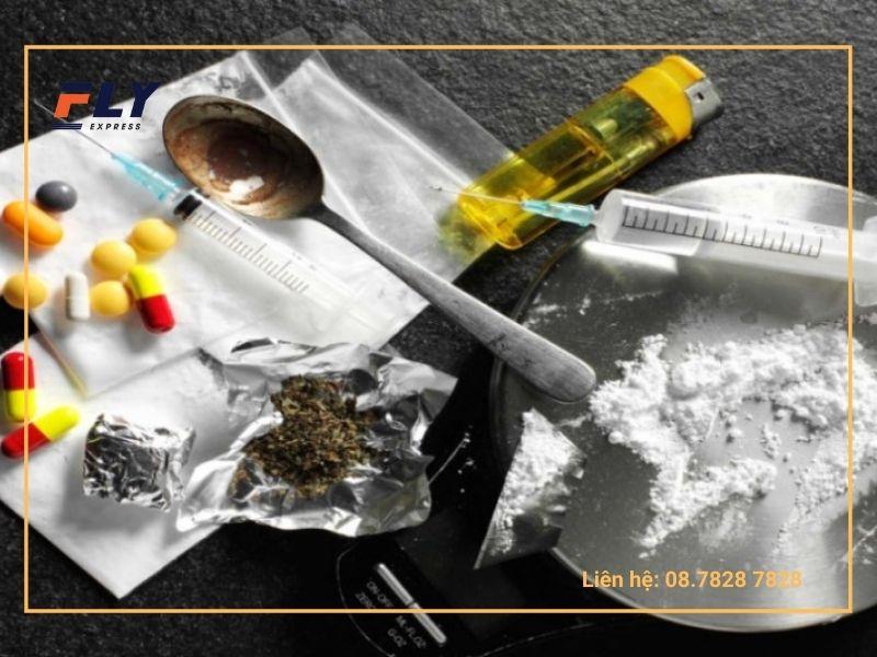 Các chất kích thích như ma túy, thuốc phiện, cần sa…